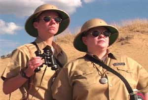 Lesbian National Parks and Services :  A Force of the Nature